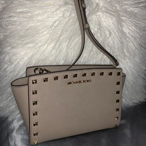 Michael Kors Selma studded crossbody